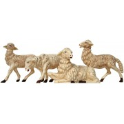 4 pc White Sheep Set for Nativities