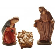 Terracotta Nativity Set