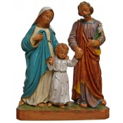 Holy Family Resin Statue