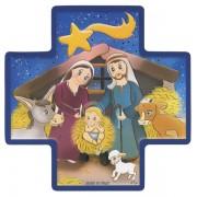 Nativity Wood Cross