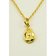 Gold Plated Pendant + Chain