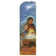 "Nativity PVC Bookmark cm.5x15 - 2""x6"""