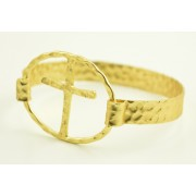 Gold Plated Bangle Bracelet