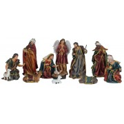 Polyresin Nativity Set 11pcs