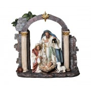 Polyresin Nativity 30cm - 12""