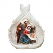 Polyresin Angel Wing Nativity Set 22cm - 9""