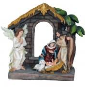 "Polyresin Nativity 20cm -8"""
