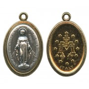 Miraculous Oval Medal