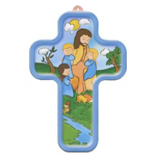 http://www.monticellis.com/565-613-thickbox/jesus-and-children-wood-laminated-cross-cm13x9-5x-31-2.jpg