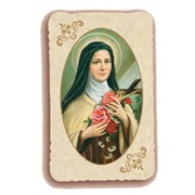 "St.Therese Holy Card Antica Series cm.6.5x10 - 2 1/2""x4"""