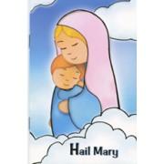"Hail Mary Prayer Book English Text cm.9.5x14 - 3 3/4""x 5 1/2"""