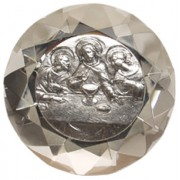 "Small Last Supper Paper Weight cm.4x6 - 1 1/2""x2 1/4"""
