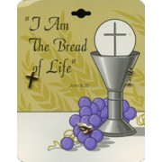 3piece Communion Lapel Pin Set English Card
