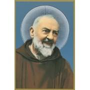 """Padre Pio Plaque cm.15.5x10.5 - 4""""x6"""""""