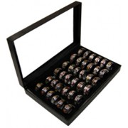 36 Display Multi Saints Turning Rings Assorted Sizes