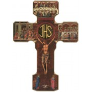 Eucharistic Cross cm.24.5 - 9 3/4""
