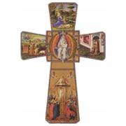 """Eternal Father Cross cm.12 - 4 3/4"""""""