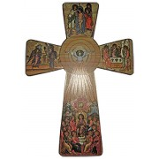 Holy Spirit Cross cm.65 - 25 1/2""