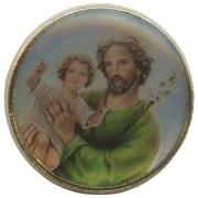 """St.Joseph Dome Lapel Pin cm.2 - 3/4"""""""