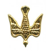"""Dove Lapel Pin Gold Plated mm.20- 3/4"""""""