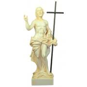 """Resin Statue of Risen Christ cm.22 - 8 1/2"""""""
