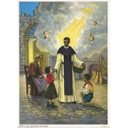 "St.Martin Print cm.19x26 - 7 1/2""x 10 1/4"""