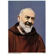 "Padre Pio Print cm.19x26 - 7 1/2""x 10 1/4"""