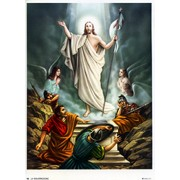 "Resurrection Print cm.19x26 - 7 1/2""x 10 1/4"""