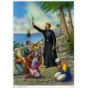 "St.Francis Saverio Print cm.19x26 - 7 1/2""x 10 1/4"""
