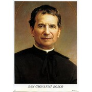 "Don Bosco Print cm.19x26 - 7 1/2""x 10 1/4"""