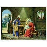 "St.Joseph The Worker Print cm.19x26 - 7 1/2""x 10 1/4"""