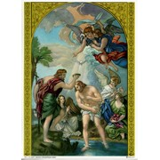 "Baptism Print cm.19x26 - 7 1/2""x 10 1/4"""
