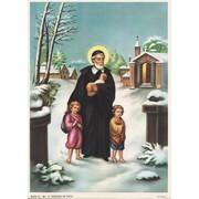 """St.Vincent de Paoli Print cm.19x26 - 7 1/2""""x 10 1/4"""""""