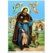"St.Roch Print cm.19x26 - 7 1/2""x 10 1/4"""