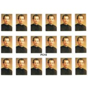 "St.John Bosco 18 Stickers cm.12x16 - 5""x6"""