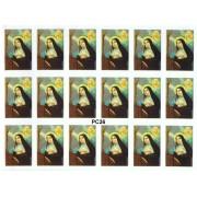 "St.Rita 18 Stickers cm.12x16 - 5""x6"""