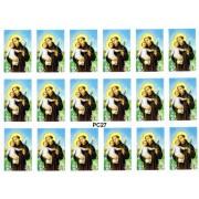 """St.Anthony 18 Stickers cm.12x16 - 5""""x6"""""""
