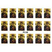 "Perpetual Help 18 Stickers cm.12x16 - 5""x6"""
