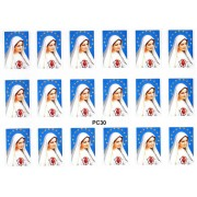 """Immaculate Heart of Mary 18 Stickers cm.12x16 - 5""""x6"""""""