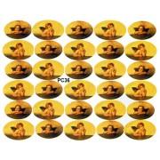 "St.Raphaels Angels 30 Stickers cm.12x16 - 5""x6"""