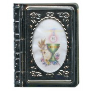 "Metal Box Booklet Large Chalice cm.6.5x5.5 - 2 1/2""x 2 1/4"""