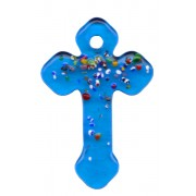 Aqua Murano Cross Long cm.4- 1 3/4""