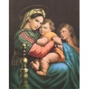 "Madonna Della Seggiola High Quality Print cm.20x25- 8""x10"""