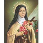 """St.Theresa High Quality Print cm.20x25- 8""""x10"""""""
