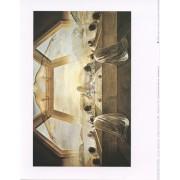"Last Supper (Salvador Dali) High Quality Print cm.20x25- 8""x10"""