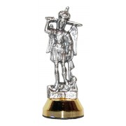 St.Michael Car Statuette mm.60 - 2 1/4""