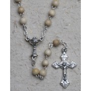 Rosary Wood Chalice 3mm Simple Link Ash