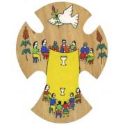 """El Salvador Wood Cross cm.15 - 6"""""""