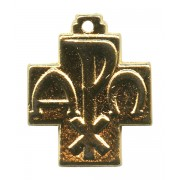 """Pax Cross Gold Plated mm.20- 3/4"""""""
