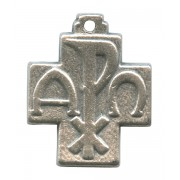 """Pax Cross Silver Plated mm.20- 3/4"""""""